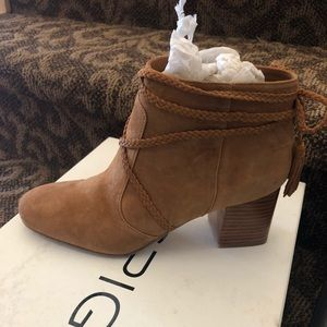 Via Spiga brown booties